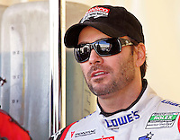 NASCAR Champion Jimmie Johnson preppares for the Rolex 24 at Daytona , Daytona International Speedway, Daytona Beach, FL, January 2009.  )Photo by Brian Cleary)
