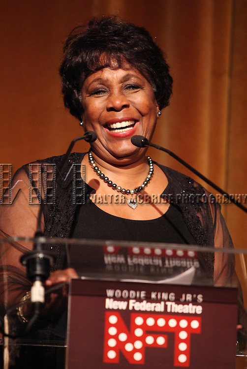 Starletta DuPois.attending the Woodie King Jr's NFT New Federal Theatre 40th Reunion Gala Benefit Awards Presentation in New York City.