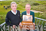 Waterville Golf Club gears up for the two day Charlie Chaplin Am-Am which tees off tomorrow Friday at 7:45am, pictured here l-r; Tommy O'Sullivan(Competition Organiser) & Pat Everett Captain WGC.