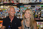 """Days Of Our Lives - Greg Meng with Melissa Reeves meet the fans as they sign """"Days Of Our Lives Better Living"""" on September 27, 2013 at Books-A-Million in Nashville, Tennessee. (Photo by Sue Coflin/Max Photos)"""
