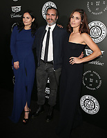 06 January 2018 - Santa Monica, California - Rain Phoenix, Joaquin Phoenix, Summer Phoenix. The Art Of Elysium's 11th Annual Black Tie Artistic Experience HEAVEN Gala held at Barker Hangar. <br /> CAP/ADM/FS<br /> &copy;FS/ADM/Capital Pictures