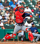 12 March 2009: Washington Nationals' catcher Wil Nieves in action during a Spring Training game against the Atlanta Braves at Disney's Wide World of Sports in Orlando, Florida. The Braves defeated the Nationals 6-2 in the Grapefruit League matchup. Mandatory Photo Credit: Ed Wolfstein Photo