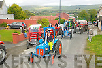 Vintage Tractor parade in Kilflynn on Saturday evening last