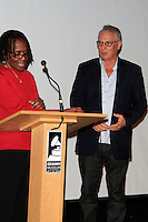 LOS ANGELES - JAN 28: Marcia Thomas, Richard Walden at the 30th Anniversary of 'We Are The World' at The GRAMMY Museum on January 28, 2015 in Los Angeles, California