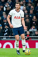 Tottenham Hotspur's Jan Vertonghen during the match against Bournemouth<br /> <br /> Photographer Stephanie Meek/CameraSport<br /> <br /> The Premier League - Tottenham Hotspur v Bournemouth - Saturday 30th November 2019 - Tottenham Hotspur Stadium - London<br /> <br /> World Copyright © 2019 CameraSport. All rights reserved. 43 Linden Ave. Countesthorpe. Leicester. England. LE8 5PG - Tel: +44 (0) 116 277 4147 - admin@camerasport.com - www.camerasport.com
