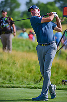 Matt Kuchar (USA) watches his tee shot on 12 during Thursday's round 1 of the 117th U.S. Open, at Erin Hills, Erin, Wisconsin. 6/15/2017.<br /> Picture: Golffile | Ken Murray<br /> <br /> <br /> All photo usage must carry mandatory copyright credit (&copy; Golffile | Ken Murray)