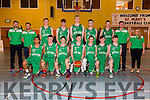 Irish Basketball under 16 boys team at the International friendly ahead of European Championship, playing against Scotland at Castleisland Community Centre on Friday