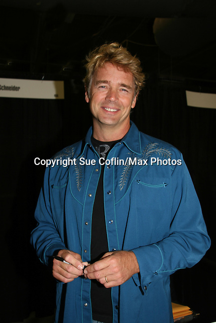 John Schneider - Loving - Dukes of Hazzard appears at Big Apple Comic Con for autographs and photos on October 16 (and 17 & 18), 2009 at Pier 94, New York City, New York. (Photo by Sue Coflin/Max Photos)
