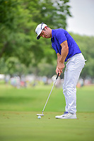 Paul Casey (GBR) watches his putt on 3 during round 3 of the Dean &amp; Deluca Invitational, at The Colonial, Ft. Worth, Texas, USA. 5/27/2017.<br /> Picture: Golffile | Ken Murray<br /> <br /> <br /> All photo usage must carry mandatory copyright credit (&copy; Golffile | Ken Murray)