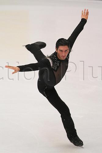 Evan Lysacek (USA), OCTOBER 31, 2009 - Figure Skating : ISU Grand Prix of Figure Skating 2009/2010, 2009 Skate China Men's Free Skating at Capital Indoor Stadium, Beijing, China. Photo by Akihiro Sugimoto/Actionplus. UK Licenses Only.