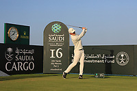 Min Woo Lee (AUS) on the 16th during the Preview of the Saudi International at the Royal Greens Golf and Country Club, King Abdullah Economic City, Saudi Arabia. 28/01/2020<br /> Picture: Golffile | Thos Caffrey<br /> <br /> <br /> All photo usage must carry mandatory copyright credit (© Golffile | Thos Caffrey)