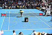 11th January 2018, ASB Tennis Centre, Auckland, New Zealand; ASB Classic, ATP Mens Tennis;  Ronald McDonald House Charity Lobbo during the ASB Classic ATP Men's Tournament Day 4 Quarter Finals