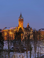 Bankmuseum, 110 Boulevard de La Petrusse, , Luxemburg-City, Luxemburg, Europa<br /> bank museum, Luxembourg, Luxembourg City, Europe