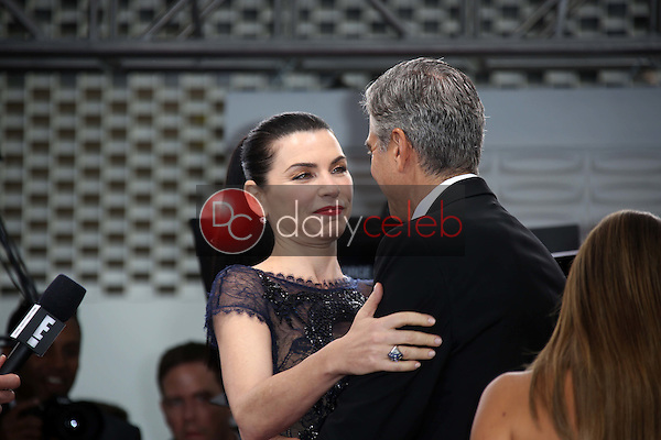 Julianna Margulies, George Clooney<br />