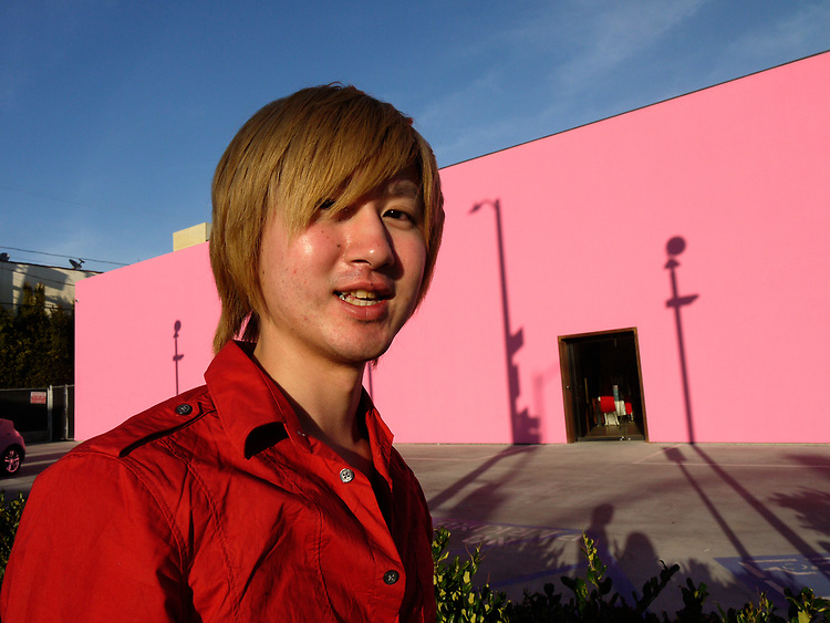 """I'm Japanese,"" Melrose Ave., LA"