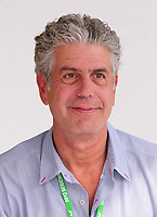 MIAMI BEACH, FL - FEBRUARY 26: CNN host and celebrity chef and CNN's &quot;Parts Unknown&quot; host Anthony Bourdain at the Whole Foods Grand Tasting Village at the 2012 South Beach Wine and Food Festival  on February 26, 2012 in Miami Beach, Florida. Anthony Bourdain Died: June 8, 2018, at the age of 61 at Strasbourg, France. commit suicide by hanged himself with bathrobe belt. <br /> CAP/MPI10<br /> &copy;MPI10/Capital Pictures