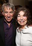 Stephen Schwartz and Gretchen Cryer attends the DGF Salon with Stephen Schwartz at the Uterberg Residence on May 1, 2017 in New York City.