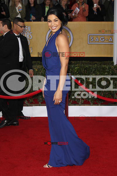 LOS ANGELES, CA - JANUARY 27: Jordin Sparks at The 19th Annual Screen Actors Guild Awards at the Los Angeles Shrine Exposition Center in Los Angeles, California. January 27, 2013. Credit: mpi27/MediaPunch Inc. /NortePhoto