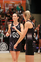 28.01.2017 Silver Ferns Mes Bailey takes to the court during the Silver Ferns v Australian Diamonds netball test match played at the International Convention Centre studium in Durban, South Africa.<br />  Mandatory Photo Credit ©Reg Caldecott/Michael Bradley Photography.