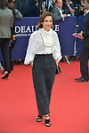 attends the 41st Deauville American Film Festival Opening Ceremony on September 4, 2015 in Deauville, France.