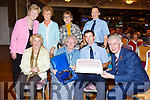 Special presentation was made to Mary O&rsquo;Brien on her 90th birthday at the Tralee Tidy Towns awards in the Rose Hotel on Tuesday night.<br /> Seated l-r, Una Buckley, Mary O&rsquo;Brien, Gda Aidan O&rsquo;Mahoney and Mark O&rsquo;Sullivan (presenting a cake from the Rose Hotel).<br /> Standing l-r, Mairead Fernane, Kitty Bulger, Josephine Griffin and Gda Irene Riordan.