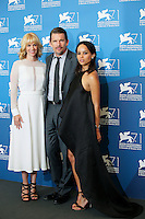 Venice, Italy - September 05: January Jones, Ethan Hawke and Zoe Kravitz attend the 'NGood Kill' photocall at Palazzo Del Cinema, during the 71st Venice Film Festival on September 05, 2014 in Venice, Italy. (Photo by Mark Cape/Inside Foto)<br /> Venezia, Italy - September 05: January Jones, Ethan Hawke and Zoe Kravitz presenti al photocall di 'Good Kill' al Palazzo Del Cinema, durante del 71st Venice Film Festival. Settenbre 05, 2014 Venezia, Italia. (Photo by Mark Cape/Inside Foto)