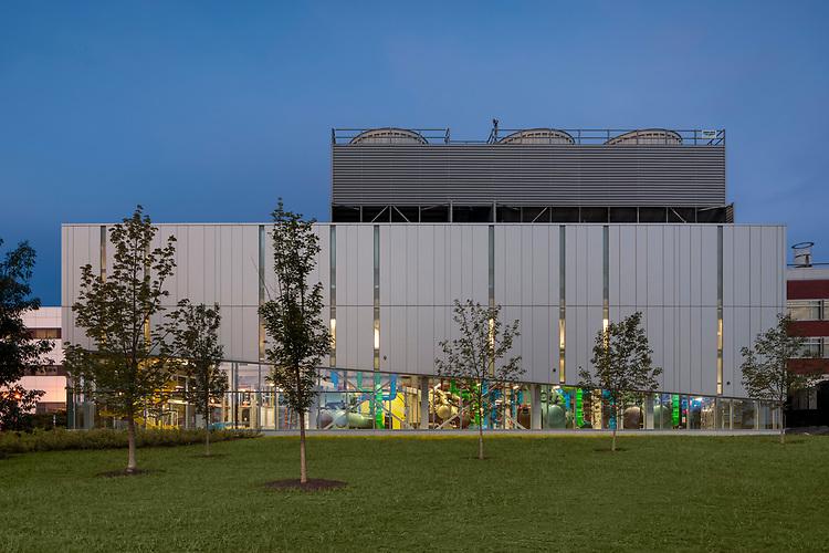University of Massachusetts - Amherst North Chiller Plant | Leers Weinzapfle Associates