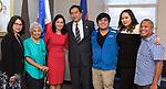 Estebans Visit Consulate General of the Philippines August, 2017