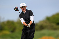 Ellie Gower (ENG) during the final round at the Irish Woman's Open Stroke Play Championship, Co. Louth Golf Club, Louth, Ireland. 12/05/2019.<br /> Picture Fran Caffrey / Golffile.ie<br /> <br /> All photo usage must carry mandatory copyright credit (&copy; Golffile | Fran Caffrey)