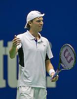18-12-13,Netherlands, Rotterdam,  Topsportcentrum, Tennis Masters,  Miliaan Niesten  <br /> Photo: Henk Koster