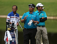 Kiradech Aphribarnet (THA) will be hoping that the applause will be on him on the final day of the 2014 Maybank Malaysian Open at the Kuala Lumpur Golf & Country Club, Kuala Lumpur, Malaysia. Picture:  David Lloyd / www.golffile.ie