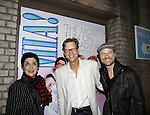 """Tony nominated actors on Broadway and starred in Soap Operas -  Mamma Mia's actors Alan Campbell (AW """"Evan Grant"""" & AMC) poses with Judy McLane (Guiding Light & AW) (Photo by Sue Coflin/Max Photos)"""