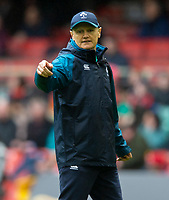 Ireland's Head Coach Joe Schmidt<br /> <br /> Photographer Bob Bradford/CameraSport<br /> <br /> Guinness Six Nations Championship - Wales v Ireland - Saturday 16th March 2019 - Principality Stadium - Cardiff<br /> <br /> World Copyright © 2019 CameraSport. All rights reserved. 43 Linden Ave. Countesthorpe. Leicester. England. LE8 5PG - Tel: +44 (0) 116 277 4147 - admin@camerasport.com - www.camerasport.com
