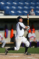 March 6 2009: Denny Duron of the Pepperdine Waves in action against the Evansville Purple Aces at Eddy D. Field Stadium in Malibu,CA.  Photo by Larry Goren/Four Seam Images