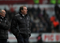 Pictured: Harry Redknapp manager for Tottenham Hotspur. Saturday 31 December 2011<br />