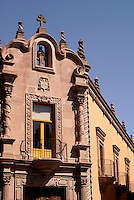 The Old Royal Treasury Building or Antigua Caja Real in the city of San Luis de Potosi, Mexico