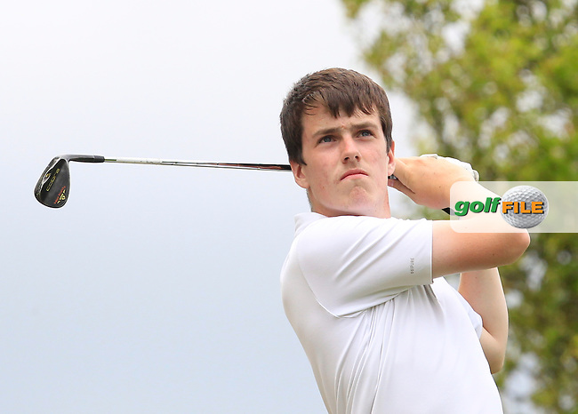 Seamus O'Neill (Co. Cavan) on the 7th tee during Round 2 of the Irish Boys Amateur Open Championship at Tuam Golf Club on Wednesday 24th June 2015.<br /> Picture:  Thos Caffrey / www.golffile.ie