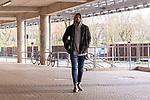 12.03.2020, wohninvest Weserstadion, Bremen, GER, Medienrunde Werder Bremen Theodor Gebre Selassie <br /> <br /> Stefanos Kapino (Werder Bremen #27)<br /> <br /> kommt in Zivil zum Training<br /> <br /> <br /> im Bild / picture shows <br /> <br /> <br /> <br /> <br /> Foto © nordphoto / Kokenge
