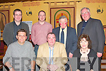 Holger Hu?ller (Kostal Sponsor), Cllr. Francis Foley, Abbeyfeale, Nora Quill (Fladh by the Feale Committee). Back l-r Kevin Forde (Supervalue Sponsors), Abbeyfeale, Paul Morris Kostal, Ciarn Curtin (Truasurer Fladh by the Feale), John O'Shea, Abbeyfeale. .   Copyright Kerry's Eye 2008