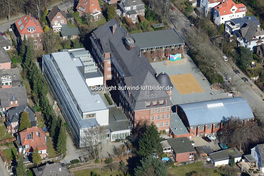 Hansa Gymnasium Bergedorf: EUROPA, DEUTSCHLAND, HAMBURG, BERGEDORF (EUROPE, GERMANY), 12.03.2014: Hansa Gymnasium Bergedorf