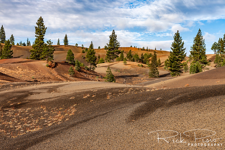 The Painted Dunes in Lassen National Park