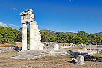 The Propylon in Hestiatorion complex in Epidaurus (4th cent.  B.C.), Greece