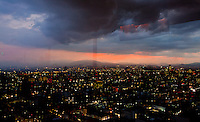 Atardecer desde la Torre Latinoamericana