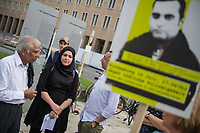 2017/07/10 Berlin | Kundgebung zum Tod von Hussam Fadl