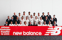 PICTURE BY VAUGHN RIDLEY/SWPIX.COM - Cricket - County Championship - Lancashire County Cricket Club 2012 Media Day - Old Trafford, Manchester, England - 03/04/12 - The Lancashire CCC players, coaches and management gather in The Point for the 2012 photo call.  New Balance sponsor.