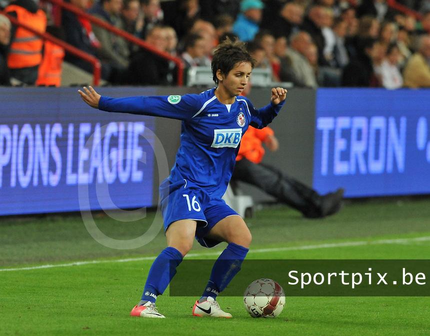 UEFA Women's Champions League: Standard de Liege v Turbine Potsdam ; Round of 32, First leg - 26/09/2012 - 19:00 CET - Stade Maurice Dufrasne - Liege :.Natasa Andonova.foto JOKE VUYLSTEKE / Vrouwenteam.be