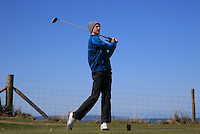Patrick Ruff during Round Two of the West of England Championship 2016, at Royal North Devon Golf Club, Westward Ho!, Devon  23/04/2016. Picture: Golffile | David Lloyd<br /> <br /> All photos usage must carry mandatory copyright credit (&copy; Golffile | David Lloyd)