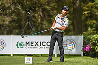 Kevin Na (USA) watches his tee shot on 8 during round 2 of the World Golf Championships, Mexico, Club De Golf Chapultepec, Mexico City, Mexico. 2/22/2019.<br /> Picture: Golffile | Ken Murray<br /> <br /> <br /> All photo usage must carry mandatory copyright credit (&copy; Golffile | Ken Murray)