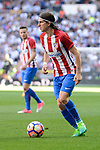 Atletico de Madrid's Filipe Luis during La Liga match between Real Madrid and Atletico de Madrid at Santiago Bernabeu Stadium in Madrid, April 08, 2017. Spain.<br /> (ALTERPHOTOS/BorjaB.Hojas)