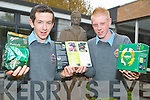 RICE AWARD: Students Sean Ward and Christopher Rogan from fifth year in CBS The Green Secondary School are to accept the Edmund Rice Award today (Thursday) in Dublin for voluntary work in the community..